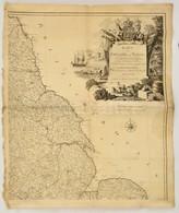 Thomas Kitchin (1718-1784): Anglia és Walles Térképe (1787, Wien) Metszette Johann Stenger Rézmetszet, Papír. Hajtásnyom - Cartes