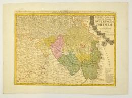 1746  Johann Baptist Homann (1664-1724): Ducatus Silesiae Tabula Alterea Superiorem Exhibens Ex Mappa Hasiana Majore Des - Cartes