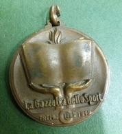 Gazzetta Dello Sport 1949 Medaglia Premio Gibbs Lamette Da Barba - Andere