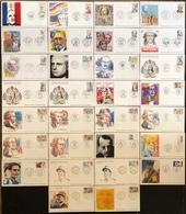France FDC - Premier Jour - Lot De 30 FDC - Thématique Personnage Célèbre - FDC