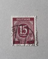 N° 11       15 Pf.  Brun-lilas  -  Oblitéré - Gemeinschaftsausgaben