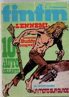 Tintin L'hebdoptimiste N°64 Barelli - Buddy Longway - Clifton - Cobalt - La Moto Sur Glace De 1974 - Tintin
