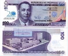 PHILIPPINES      100 Piso      Comm.      P-218      2013       UNC  [20th Anniversary Of BSP] - Filippine