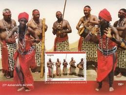 Angola 2007 South Africa Development Community Dances SS MNH - Dans