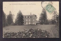 CPA 76 - SAINT-NICOLAS-d'ALIERMONT - Les Forrières - TB PLAN Château - Frankrijk