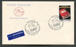 FDC ITALIA 2006 - CAVALLINO - ANNIVERSARIO RIVISTA QUATTRORUOTE - 337 - F.D.C.