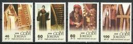 Jordan 2009 Mi 1990-1993 MNH ( ZS10 JRD1990-1993dav106B ) - Kulturen