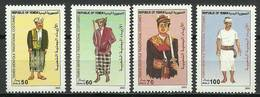 Yemen 2004 Mi 302-305 MNH ( ZS10 YMN302-305dav106B ) - Costumes