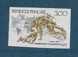 France Timbres De 1987  N°2482a   Non Dentelé Neufs ** Gomme Parfaite Cote 30 € - Frankrijk