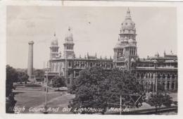 INDE :  MADRAS :  High Court And Old Lighthouse. Oblitération Madras G. P. O. - Inde