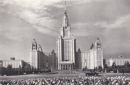 RUSSIE :  Université De Moscou - Russie