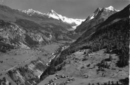 EVOLÈNE → Luftaufnahme Anno 1951 - VS Valais