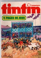 Tintin L'hebdoptimiste N°96 Comanche - Michel Vaillant - Le Grand Tournoi De Bruges De 1974 - Tintin