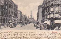 LONDON - UNITED KINGDOM -  ANIMATED PRECURSOR POSTCARD 1903. - London