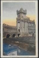 CASTELLO DI PORTA LEGNAGO - MONTAGNANA -FORMATO PICCOLO COLORATA - VIAGGIATA 1929 - Castelli