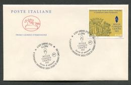 FDC ITALIA 2006 - CAVALLINO - UNIVERSITA' DEGLI STUDI DI URBINO CARLO BO - 339 - 6. 1946-.. Republik