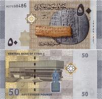 SYRIA       50 S. Pounds       P-112       2009 / AH1430         UNC - Syria