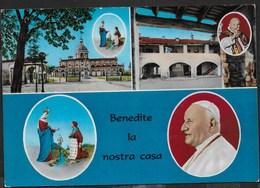 SANTUARIO DI CARAVAGGIO - PAPA GIOVANNI XXIII - VIAGGIATA 1967 - Papi