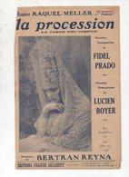 """Partition Populaire """"petit Format"""": LA PROCESSION Raquel Meller  (MPA PF 008) - Musica & Strumenti"""
