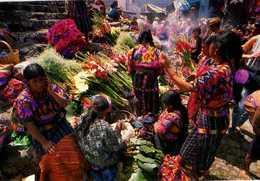 CHICHICASTENANGO Quiche, Thor Janson 1996, Marché Aux Fleurs - Guatemala