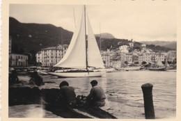 PICCOLA FOTO D' EPOCA - GENOVA -  S. MARGHERITA - 1946 - Genova