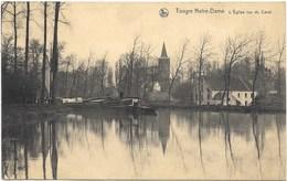 Tongre Notre-Dame NA1: L'Eglise Vue Du Canal - Chièvres