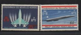 LOT 530 - NOUVELLES HEBRIDES N° 276/277 **   - CONCORDE - Avions
