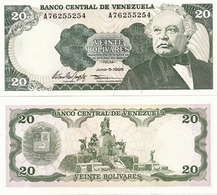 VENEZUELA       20 Bolívares       P-63e       5.6.1995       UNC - Venezuela