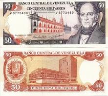 VENEZUELA       50 Bolívares       P-65g       13.10.1998       UNC - Venezuela