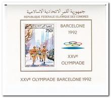 Comoren 1992, Postfris MNH, Olympic Summer Games - Comoren (1975-...)