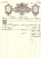 1888 Photographie Kunst-Anstalt Ludwig Angerer U. Loschl > Dessain Malines (515i) - Fiscale Zegels