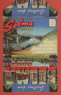 CP20 DEPLIANTS Complet U.S.A  ALABAMA  SELMA  Greeting From 18 Vues - Tourism Brochures