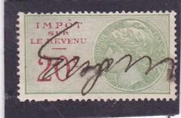 T.F. Impôt Sur Les Revenus N°106 - Fiscaux
