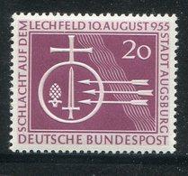 "Bundesrepublik Deutschland / 1955 / Mi. 216 ""Schlacht Auf Dem Lechfeld-Stadt Augsburg"" ** (12508) - [7] République Fédérale"
