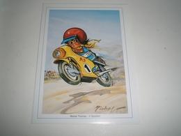 Calendrier De Poche, Illustrateur Michel THOMAS 2001 ( Petit, Mini, Publicitaire) - Calendars