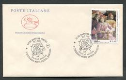 FDC ITALIA 2006 - CAVALLINO - ANNIVERSARIO SCOMPARSA ANDREA MANTEGNA - MANTOVA - 347 - 6. 1946-.. Repubblica