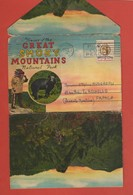 CP20 DEPLIANTS Complet U.S.A  NATIONAL PARK 1-2  Greeting From 18 Vues - Tourism Brochures