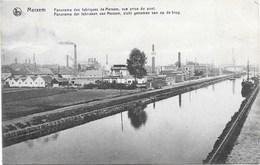 Merxem NA9: Panorama Des Fabriques De Merxem, Vue Prise Du Pont - Antwerpen