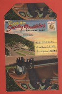 CP20 DEPLIANTS Complet U.S.A  NATIONAL PARK 3-4  Greeting From 18 Vues - Tourism Brochures