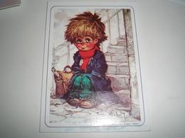 Calendrier De Poche, Illustrateur Michel THOMAS 1991 ( Petit, Mini, Publicitaire) - Calendars