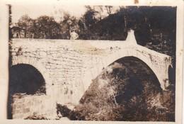 PICCOLA FOTO D' EPOCA - GENOVA - PONTE DI REZZOAGLIO - 1916 - Genova