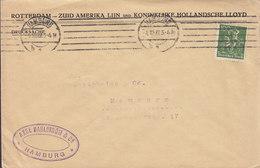 Germany Deutsches Reich AXEL DAHLSTRÖM & Co. HAMBURG 1923 ROTTERDAM - Zuid Amerika Lijn & Koninklike Hollandsche Lloyd - Briefe U. Dokumente