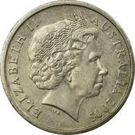 Monnaie, Australie, Elizabeth II, 5 Cents, 2005, TB+, Copper-nickel, KM:401 - Monnaie Décimale (1966-...)