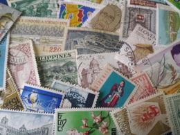 Timbres Vrac Monde Et Nombreuse Thematiques Lot De 1000 Timbres Lot12 - Lots & Kiloware (mixtures) - Min. 1000 Stamps