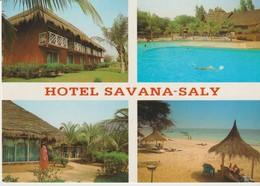 C.P. - PHOTO - SÉNÉGAL - HOTEL SAVANA SALY - SALY PORTUDAL - L'IMAGE - LAURENT GERRER - 8 - 4 VUES - Sénégal