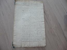 Copie Annoté XVIII XIX ème De La Déclaration Du 18/08/1732 Cours Parlement Paris Lois Religions Organisation De La Cour - Manuscrits