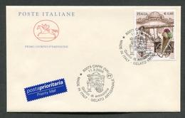 FDC ITALIA 2006 - CAVALLINO - MADE IN ITALY - GELATO ARTIGIANALE - CAPRI ( NA ) - 351 - F.D.C.