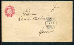Schweiz / 1878 / Ganzsachenumschlag Steg-Stempel ST.GALLEN (12514) - Ganzsachen