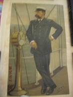 MONACO -- Yachting -- The Prince Of Monaco -- Prince Albert 1er - Old Paper