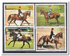 Paraguay 1988, Postfris MNH, Olympic Summer Games, Horses - Paraguay